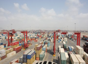 $295m in Iran's Non-Oil Trade Surplus With Arab League