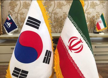 Non-Oil Trade With S. Korea Dips
