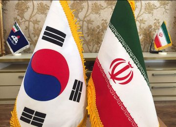 Iran's Non-Oil Trade With South Korea Tops $2.6b
