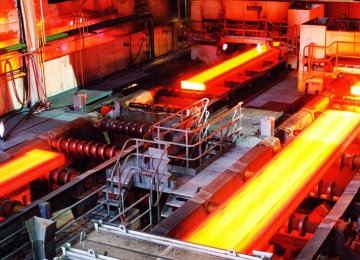 Iran Steel Output Rises 11.3% YOY to 18.6m Tons