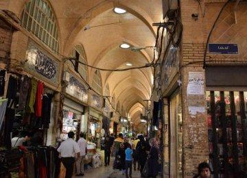 Business as Usual in Tehran's Grand Bazaar