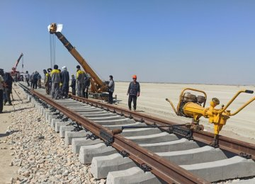 Chabahar-Zahedan Rail Project Progresses by 48%