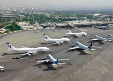 Airlines' Debts to Mehrabad Int'l Airport Reach $20m