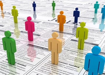 Iran Services Sector's Job Market Share Reaches 50% in Q3