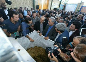Paper Processing Factory Launched in Golestan