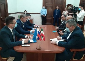 Astrakhan Develops Into Hub for Boosting Iran's Trade Ties With Russia