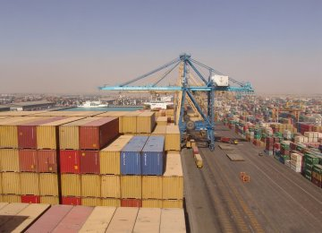 Intermediate Goods Account for Lion's Share of Iran Imports