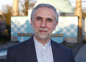 Yerevan Hosts Iran's Solo Exhibit