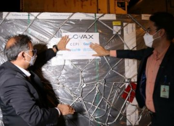 New Shipment of Over 1.4m Doses of Covid Vaccine Arrives
