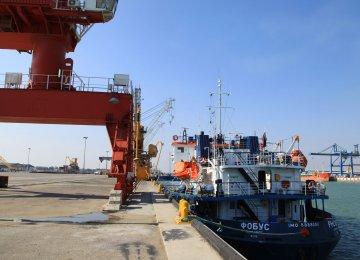 Amirabad Port Throughput at 2.4m Tons Last Year