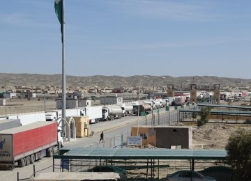 90% of Iran Borders Open for Trade