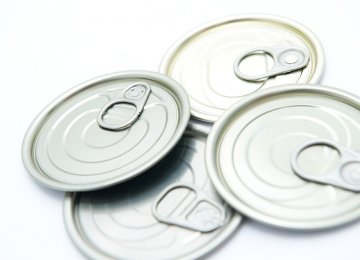 Easy-Open Can Lid Imports  at $22 Million
