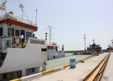 40% Increase in Throughput of Gilan's Ports