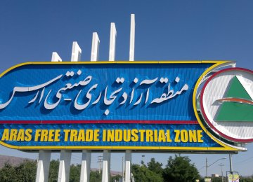 H1 Foreign Investments in Aras FTZ Increase by 78%