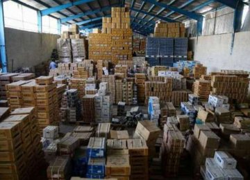 Hoarded Goods Worth $40m Confiscated in Tehran