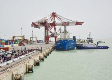 Iran's Imam Khomeini Port Sees 3% in Non-Oil Goods Throughput