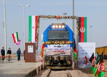 Iran-Afghanistan Rail Linkup to Bolster Transit, Trade Relations