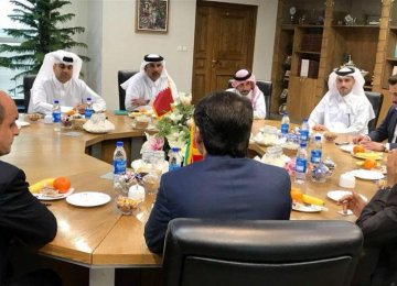 The Qatari delegation is scheduled to visit Iran's southern ports and become familiar with their commercial and tourism capacities.