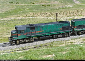 Rail Freight Transport in Iran Up 4%