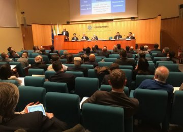 Iran Investment Prospects Discussed in Rome Forum