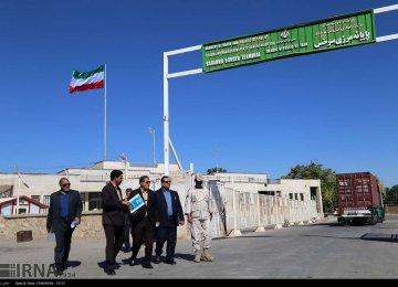 Transportation via Iran's Northeastern Border Crossing Rises 57%