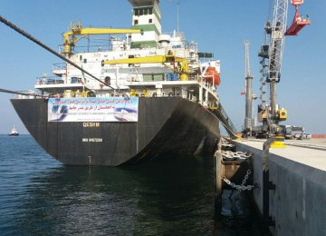 Goods Transit to Afghanistan via Chabahar Hits 120,000 Tons