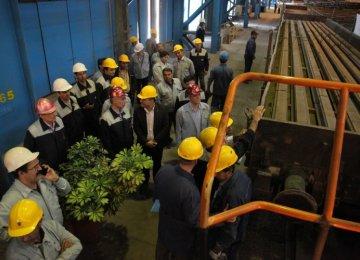 Iran Railways Receives 1stBatch of Domestically Produced Rails