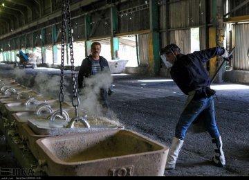 Iran Aluminum Ingot Production Declines