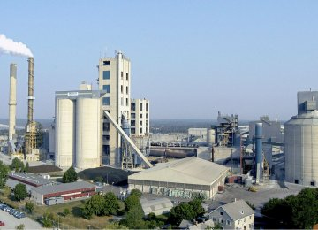 Iran's Cement Output Ranking Climbs to Seventh Worldwide