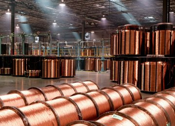 Iran's Q1 Copper Production Surpasses 290K Tons