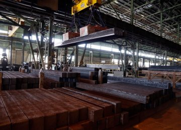 Steel Exports Rise 40% to 7.8m Tons