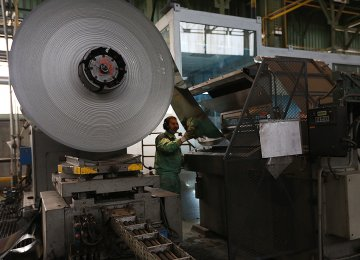 Steel Output Tops 43m Tons