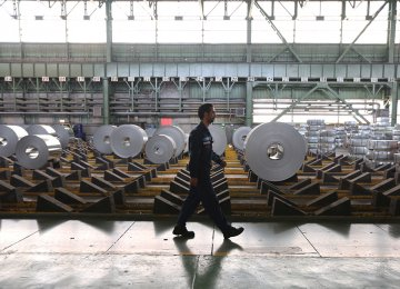 Iran Steel Output Tops 26m Tons