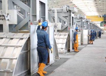 Iran's Biggest Aluminum Project Comes on Stream