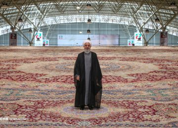 $100m Carpet Unveiled at Tabriz Int'l Exhibition