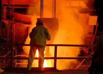 5% Growth in Iran Steel Output