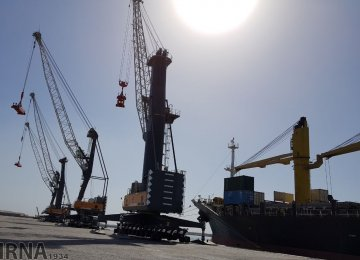 Chabahar Port Activity Gains Momentum