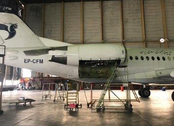 Fokker 100 to Rejoin Iran Air Fleet After Getting Flight Permit