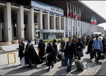 Iran's Khorasan Province Registers Highest Rail Passenger Throughput