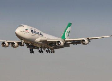 Mahan Air's Boeing 747-300 Flies Again After 5 Years of Maintenance