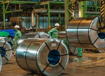 Apparent Steel Usage Dwindles