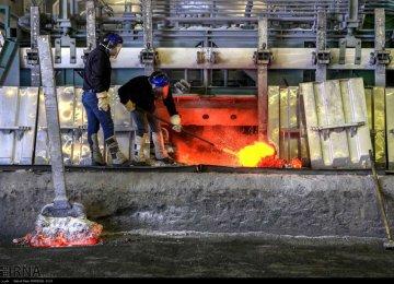 Aluminum Production Rises 70%