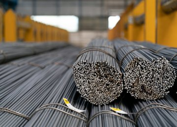 Iran Registers Offbeat Growth in Apparent Steel Usage in 7 Months