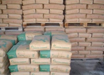 Main Destination for Cement Exports via Railroads