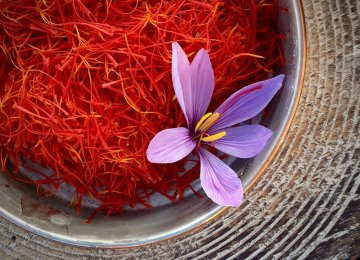 Saffron Exports Grow 46%
