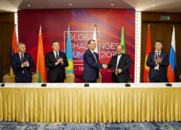 Trade With Eurasian Economic Union Tops $1 Billion
