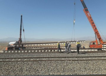 Iranian Private Sector to Launch Rail Linkup With Iraq in 1 Month
