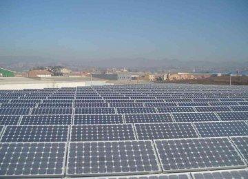 S. Korean Firm to Build Mega Solar Plant in Iran