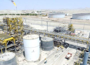 Iran produces about 850 million cubic meters of gas per day.