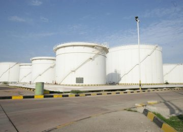 Bushehr Oil Storage Tanks to  Come on Stream by March 2019